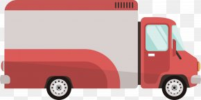 Express Truck Design - Car Compact Van Truck Transport Automotive Design PNG