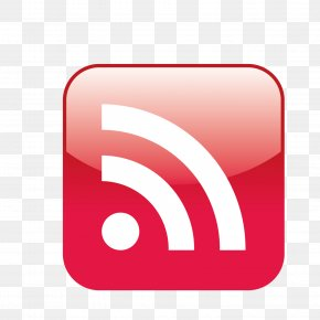 Red Wifi Signal Vector Icon - Social Media Marketing Press Release Public Relations Advertising PNG