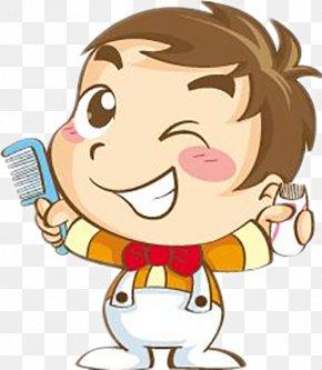 Hairdressing Material - Hair Care Hairdresser Barber Cartoon Dandruff PNG