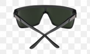 Green And Dark Grey - Goggles Sunglasses Light Lens PNG