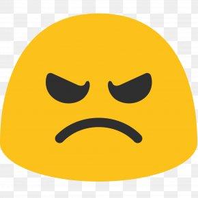 Sad Emoji - Angry Face Angry Smilies Emoji Anger Emoticon PNG