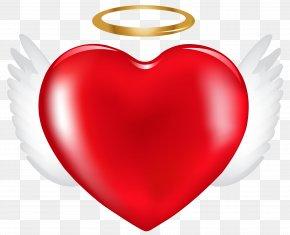Angel Heart Clip Art Image - Clip Art PNG
