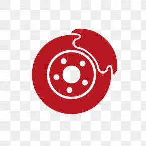 Wheel Smile - Red Logo Circle Automotive Wheel System Auto Part PNG