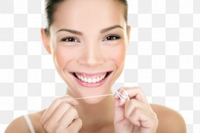 Smile - Tooth Whitening Dental Floss Human Tooth Dentistry PNG
