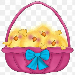 Easter Basket - Easter Bunny Easter Postcard Easter Egg Clip Art PNG