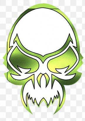 Green Skull Cliparts - Skull Clip Art PNG