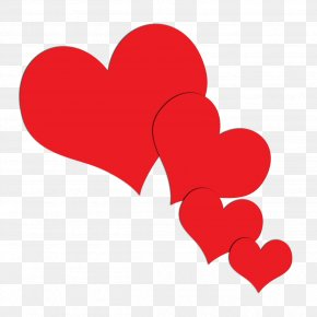 I Love You - Love Hearts Clip Art PNG