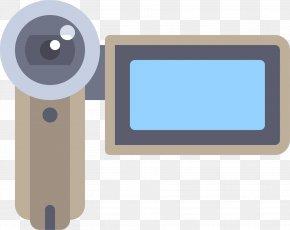 Cartoon Home Camera - Video Camera Camcorder Icon PNG