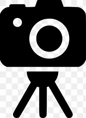 Camera Lens - Black And White Camera Lens Photography Clip Art PNG