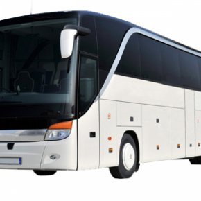 Bus - Bus Setra Package Tour Taxi Coach PNG