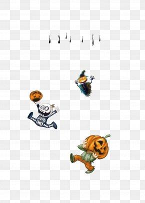 Halloween Pumpkin Man - Halloween Pumpkin Jack-o-lantern Scarecrow PNG