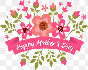 Mother's Day Bouquet - Floral Design Euclidean Vector Flower PNG