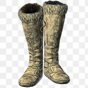 Beige Riding Boot - Footwear Boot Shoe Rain Boot Durango Boot PNG