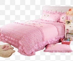 Bed - Bed Sheet Gratis Bed Frame PNG