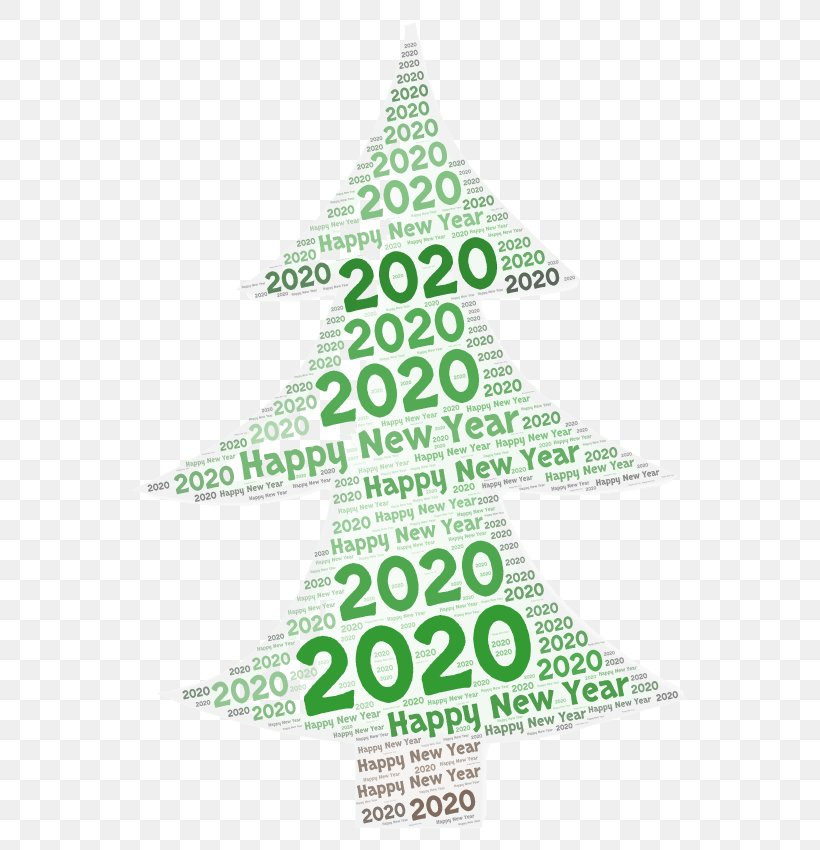 Happy New Year 2020 Design, PNG, 587x850px, 2020, Happy New Year 2020, Christmas Day, Christmas Decoration, Christmas Ornament Download Free