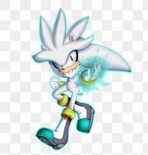 Silver - Silver The Hedgehog Sonic The Hedgehog Sonic Riders Sonic Free Riders Art PNG