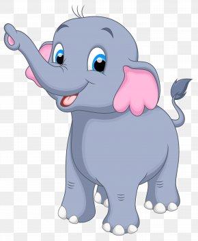 Little Elephant Clipart Image - Elephant Clip Art PNG