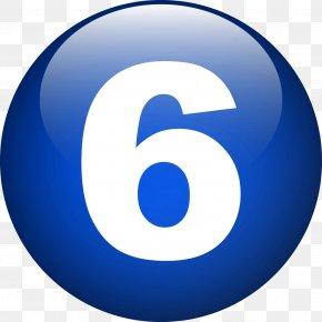 Number 6 - Number Clip Art PNG
