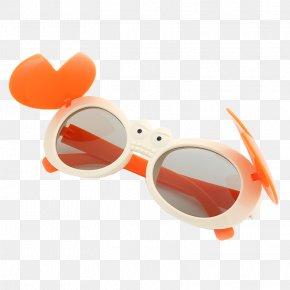 Crab Children 3D Glasses - Goggles Sunglasses Stereoscopy PNG