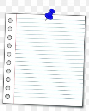 Annotate Cliparts - Ruled Paper Post-it Note Notebook Clip Art PNG