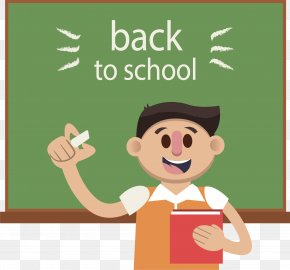 Welcome Back To School! - School Teacher Computer File PNG