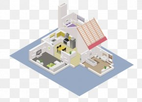 Smart Building - Vector Graphics Stock Illustration Drawing House PNG