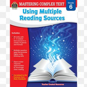 Teacher - Mastering Complex Text Using Multiple Reading Sources Grd 4 Mastering Complex Text Using Multiple Reading Sources, Grade 3 Mastering Complex Text Using Multiple Reading Sources, Grade 2 Reading Comprehension PNG
