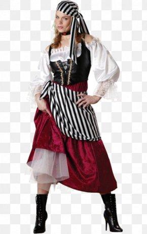 Pirate Costume - Halloween Costume Dress Woman Женская одежда PNG