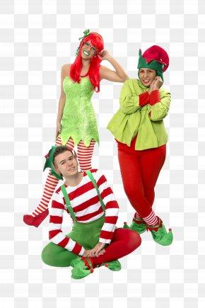 Christmas - Christmas Ornament Christmas Elf Clown Costume PNG