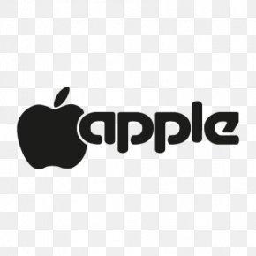 Apple Logo - Apple II Logo Typeface Font PNG