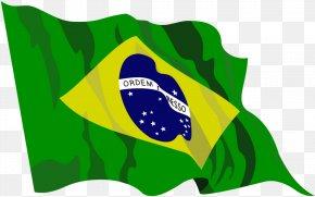 Brazil Flag - Flag Of Brazil Clip Art PNG