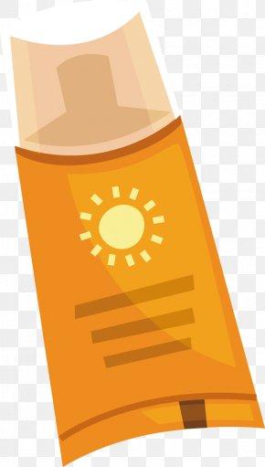 Sun Vector - Sunscreen Cosmetics Computer File PNG
