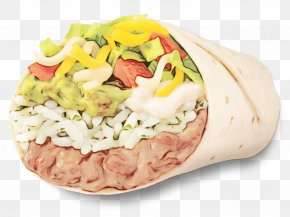 American Food Burrito - Food Dish Cuisine Ingredient Mission Burrito PNG