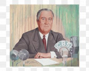 United States - Franklin D. Roosevelt Fireside Chat United States Second World War Normandy Landings PNG