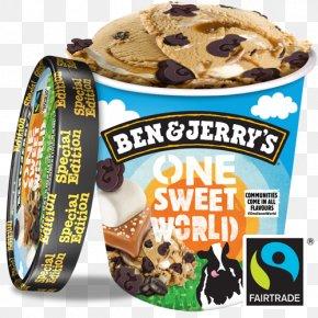 Ice Cream - Ice Cream Chocolate Brownie Ben & Jerry's Gelato Cherry Garcia PNG