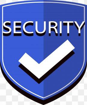 Blue Security Shield - Shield Clip Art PNG