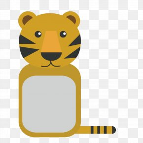 Animal Vector Cartoon Lion - Lion Tiger Cartoon PNG