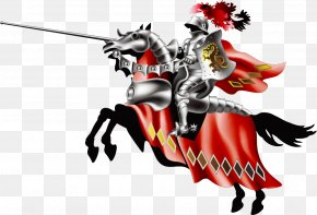 Sophisticated Vector Warrior Knight - Northampton Saint Georges Day In England Valentines Day Holiday PNG