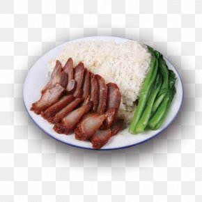 Bacon Bowl - Bratwurst Sausage Char Siu Bacon Dish PNG