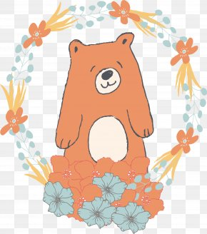 Brown Bear Vector - Brown Bear PNG