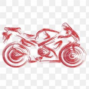 Vector Flow Bright Color Motorcycle Flattened - Car Kawasaki Motorcycles Vehicle Driver's License PNG