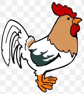 Drawings Of Roosters - Foghorn Leghorn Chicken Rooster Cartoon Clip Art PNG