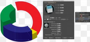 Adobe Illustrator - Pie Chart Three-dimensional Space Diagram Percentage PNG