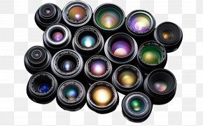 Variety Of Camera Lens Material - Camera Lens Lenses For SLR And DSLR Cameras Digital SLR PNG