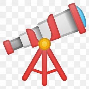 Optical Instrument Red - Emoji PNG