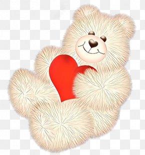 Plush Heart - Teddy Bear PNG