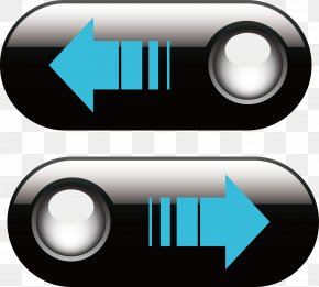 Exquisite Black Button - Button Download Icon PNG