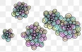 FLOWER PATTERN - Flower Art Floral Design Drawing Pattern PNG