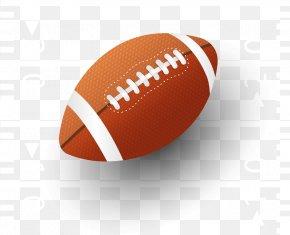 Vector Hand-painted Baseball - Super Bowl American Football Football Player PNG