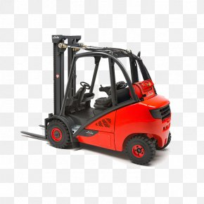 Linde Material Handling - Forklift The Linde Group Погрузчик Linde Material Handling PNG